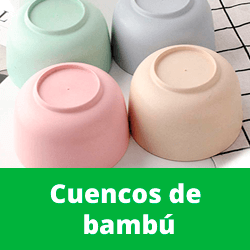 cuenco bambu amazon